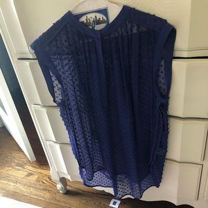Rebecca Taylor crepe blouse
